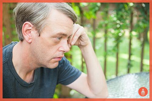 adult marijuana user experiencing memory loss