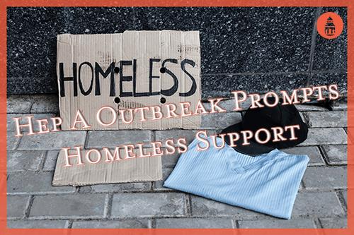 homeless sign on sidewalk in san diego