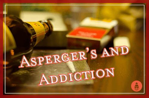 concurrent aspergers and drug addiction
