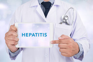 Different types of hepatitis.