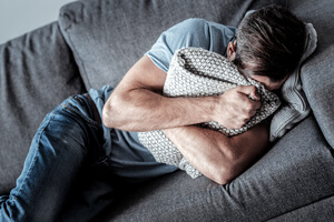 How common is depression in men?